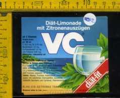 Etichetta Bibita Analcolica Diat-Limonade VC - Germania - Altri