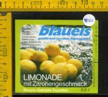 Etichetta Bibita Analcolica Limonade Blaueis - Germania - Altri