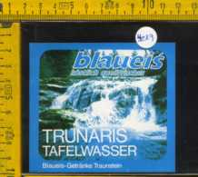 Etichetta Acqua Da Tavola Trunaris Blaueis - Germania - Etichette