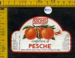 Etichetta Confettura Di Pesche Suis - Montecchio Magg - Etichette