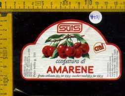 Etichetta Confettura Di Amarene Suis - Montecchio Magg - Altri