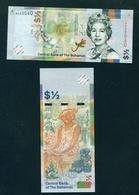 BAHAMAS  -  2019  50 Cents  UNC Banknote - Bahamas