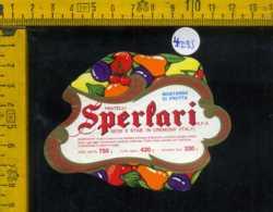 Etichetta Alimentare Mostarda Di Frutta-Fratelli Sperlari - Cremona - Etichette