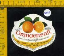 Etichetta Bibita Orangensaft - Germania - Etichette