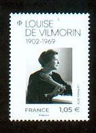 France 2019 - Louise De Vilmorin, Romancière Et Poétesse / Novelist & Poet - MNH - Schriftsteller