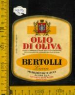 Etichetta Alimentare Olio Di Oliva Bertolli - Lucca - Altri