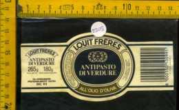 Etichetta Alimentare Antipasto Di Verdure Louit Frères - PC - Etichette