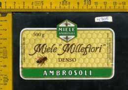 Etichetta Alimentare Mielle Millefiori Ambrosoli - CO - Etichette