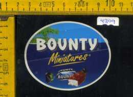 Etichetta Alimentare Miniatures Bounty - Etichette