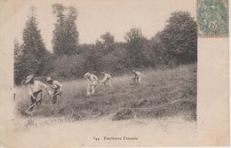 CPA Creuse - Faucheurs Creusois  (jolie Scène Avec 5 Faucheurs) - France