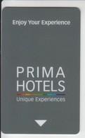 ISRAEL PRIMA HOTELS CARD - Cartas De Hotels