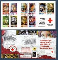 France 2019.Bloc Croix Rouge.Cachet Rond Gomme D'Origine. - Blocs & Feuillets