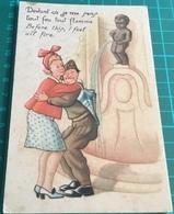 Manneken Pis Brussels Belgium ~ Humour - Monuments