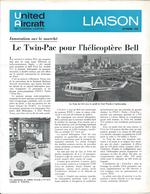 Revues Liaison  De Octobre  1968 - United Aircraft  Of Canada Limited  Transport  Aviation Ect ... - Publicités