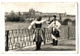 Czech Republic Praha Hardcany - Folk Costume - Customs