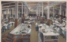 Libby Brand Pickle And Condiment Industry Factory Interior View Women Workers Canning, C1900s/10s Vintage Postcard - Industry