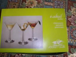 6 Bicchieri Per Cocktail Nuovi, In Confezione Originale - Other