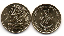Guinea - 25 Francs 1987 AUNC Lemberg-Zp - Guinée