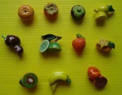 Fève  - Lot De 11 Fèves - Fruit  Exotique - Autres
