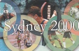 TARJETA TELEFONICA DE RUMANIA (Juegos Olímpicos). Sydney 2000 (Red). RO-ROM-0067A (277) - Juegos Olímpicos