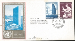 J) 1965 VATICAN CITY, PAUL, 6 P.M DECRETAL, PEACE NATIONS MEETINGS TO DETERMINE THE MAXIMUM ALLOWANCE TO TRAVEL, SOMETHI - Vatican