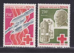 BENIN N°  395 & 396 ** MNH Neufs Sans Charnière, TB (D9009) J. Lister, Chirurgien Anglais- 1977 - Bénin – Dahomey (1960-...)