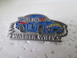 PIN'S    FORD SIERRA COSWORTH  WILLY  WAEBER   RALLYE - Rallye