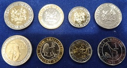 Kenya - Set 4 Coins 1 5 10 20 Shillings 2018 UNC Lemberg-Zp - Kenya