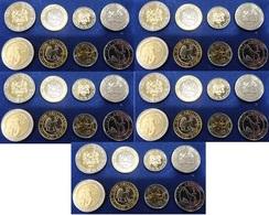 Kenya - 5 Pcs X Set 4 Coins 1 5 10 20 Shillings 2018 UNC Lemberg-Zp - Kenya