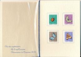 1952 Pro Juventute Volage Geschneksheft Von Courvoisier S.A. La Chaux De Fonds - Lettres & Documents