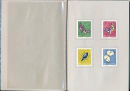 1956 Pro Juventute Vorlage Geschenkheft Von Courvoisier S.A. La Chaux De Fonds - Lettres & Documents