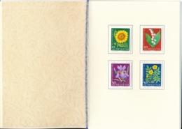 1960 Pro Juventute Vorlage Geschenkheft Von Courvoisier S.A. La Chaux De Fonds - Lettres & Documents