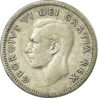 Monnaie, Canada, George VI, 10 Cents, 1949, Royal Canadian Mint, Ottawa, TB - Canada