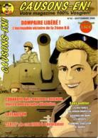 Revue CAUSONS EN  N° 42  DOMPAIRE Libéré Victoire 2° DB , Métier Fenaison ,  Vosges - Lorraine - Vosges