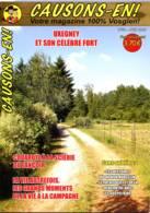 Revue CAUSONS EN  N° 50 Uxegney Et Fort , Scierie Lançoir , Autrefois Vie Campagne ,  Patois  ,  Vosges - Lorraine - Vosges
