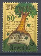 Slovenia Slovenie Slowenien 2000 Mint MNH **: Flora Plants Trees; First Book In Slovenia Anniversary Reformation Trubar - Bäume