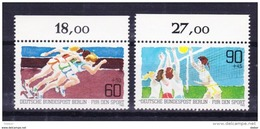 Duitsland Berlin 1982 Nr 625/26 **, Zeer Mooi Lot Krt 3626 - Timbres