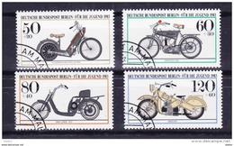 Duitsland Berlijn 1983 Nr 655/58 G, Zeer Mooi Lot Krt 3649 - Timbres