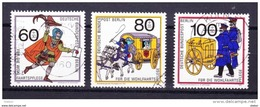 Duitsland Berlijn 1989 Nr 813/15 G, Zeer Mooi Lot Krt 3646 - Timbres