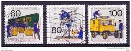 Duitsland Berlijn 1990 Nr 837/39 G, Zeer Mooi Lot Krt 3642 - Timbres