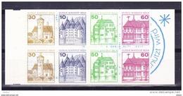 Duitsland Berlijn Boekje Nr 12 **, Zeer Mooi Lot Krt 3650 - Collections (sans Albums)
