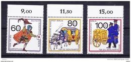 Duitsland Berlin 1989 Nr 813/15 **, Zeer Mooi Lot Krt 3578 - Timbres