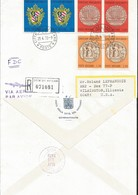 J) 1970 VATICAN CITY, CONCILIUM VATICANUM I, ARMS, CHURCH, CENTENARY MEDAL JESUS GIVING ST. PETER THE KEYS, REGISTERED, - Vatican