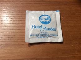 Sachet De Sucre «Hotel Aurora - LIDO DI JESOLO - VENEZIA» (Italie) - Sucres