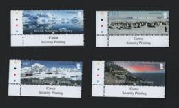 British Antarctique Territory Set Landscapes Mnh  2018  / Antarctique Britannique Série ** Paysages (ref WP1L7) - Unused Stamps