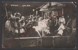 LITUANIE - TB Carte Photo Liaudies Namu SIAULIAI Théatre VOLGA ... VOLGA - Décembre 1929 - Lietuva Lithuania - Russia - Lituanie