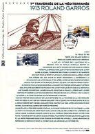 """FRANCE 2013 """" ROLAND GARROS """" Sur Document Philatélique Officiel 1er Jour. N°YT PA 77 Parfait état ! - FDC"""