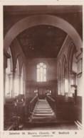 BEDFORD- ST MARYS CHURCH INTERIOR - Bedford