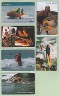 New Zealand - Protel Ltd - Prepaid (Inactive) - 199? Surf Rescue Set (6) - Mint - Neuseeland