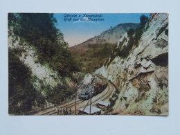 Romania 439 Karpathen Zug Bahn 1917 - Roemenië